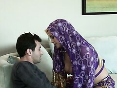 Delicious blonde cougar Shyla Stylez arabian nights adventure