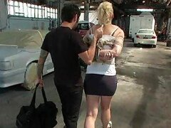 Kidnapped Blonde Gets Her Hot Ass Pounded In Public