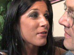 Nasty wife just wants black dick over her husband
