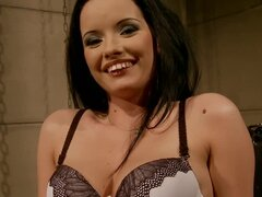 Clothespins and Chains Used to Dominate Sheala Brill Before BDSM Fuck