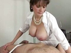 Domina going russian as she titfucks her ...