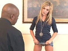 Blonde Slut Amy Brooke Gets Her Sexy Ass Gaped After Interracial Sex