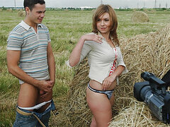 Susan and Boris fulfilled a dirty fantasy of many happy family couples ??? sex on the hayloft. It's so romantic and so fucking hot at the same time. They lay in that warm mess of hay and take incredible positions for that sex action to be more ardent.