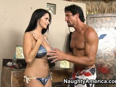 Thirsty Ava Addams begs to be filled by steaming hot man juices