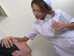 Asian slut action for this hot nurse babe tube video