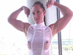 Mistress Devestation - Muscle Worship