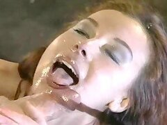 Rocco Fucks A Chick In The Ass & Cums In Her Mouth.