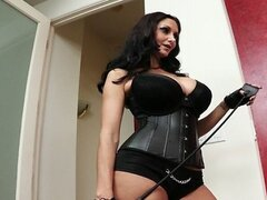 SEXY dominatrix Ava Addams has her turn being dominated