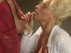 blonde mature slut