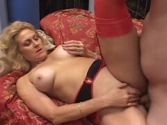Horny Blonde MILF Dana Devine Gets Fucked and Creampied