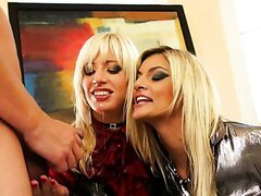 BLONDIE BABES MAKE A PISS CALL/KLARISA, BELLA MORGAN