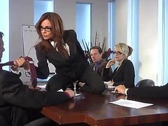 Kirsten Price Fucks Her Two Workmates