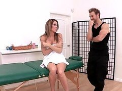 Normal Oiled Up Massage Ends Up With A Hard Fuck Fr Courtney Cummz