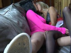 Nasty pussy fun with hot lesbians...