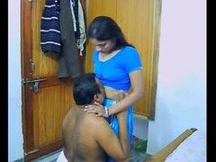 Indian Pair On Their Honeymoon Sucking...
