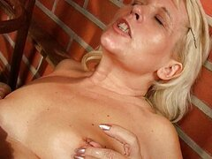 Lesbian MILFS licking and toying