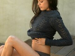 Latina Renee Perez Strips Out of Tight Sweater And Fingers Herself by Joymii