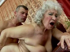 Lewd granny Norma fucks some guy...