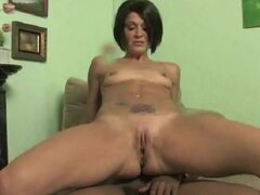 Squirting mom fucked hard