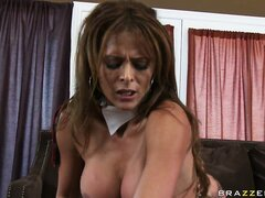 Monique Fuentes slammed hardcore and jizzed on the face with a load of warm and sticky cum