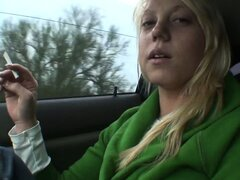 Beautiful blonde teen Shawna Lenee is on the lookout for wild hardcore action