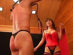 Femdom japansee whipping