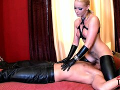 She rides his face, sits on his prick and sucks his dick for a reward