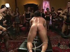 Dominatrix Sluts gather up for a Fun Humiliating Session