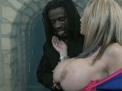 The big black dick fuck's sarah j...