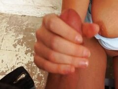 Eurobabe Tea Key banged in public place