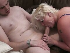 Massive tits bbw blonde fucked hard in doggy style
