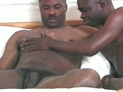 Get yourself hot with these two gay black dudes