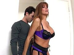 Sexy Milf Darla Krane Sucks And fucks James Deen's Hard Cock
