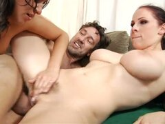 Busty cops gianna michaels and charlie chase in threesome