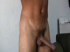 Masculine Mexican men with big uncut vergas