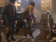 Mafia Babe Jessica Drake Double Teamed By Two Cops