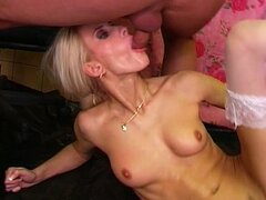 Babe gets pissed and all her holes fucked