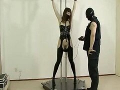 BDSM Latex - Anal Training
