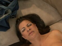 Mature fat aunty Teri Weigel performing good quality titjob