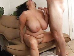 Curvy mom with big hot tits fucked