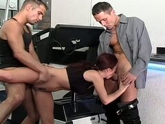 Incredible heatwave with cum hungry slut for hardcore dp fun