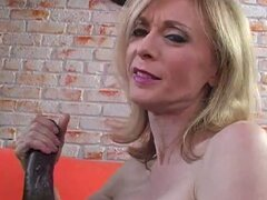 Nina Hartley wants to have a black cock cum to her