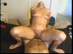 Hairy old lady has hardcore sex