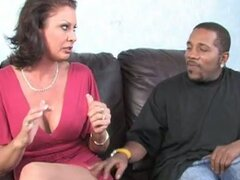 Vanessa videl fucks black guy away from son