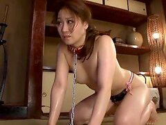 Submissive Slave Yuu Kawakami Gets Ass Fucked On The Floor