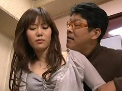 Kinky Asian Man Touching a Hot Japanese Teen In Public