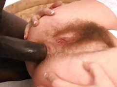 Hirsute Hotties Takes a Cock up Her Ass