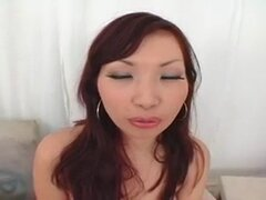 Thick black dick for Japanese ass and mouth