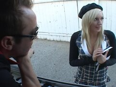 Blonde Teen Nailed Hard