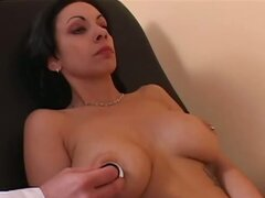 Jillian came in for a general check-up, wondering why her breasts were bothering her so much. Diagnosis: lack of sex! Treatment: a heavy dose of cock for her tight pussy, and some hot, sticky cum for her aching tits!
